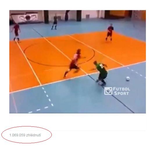 Video – Klička bez míče z našeho zápasu s Baníkem Chomutov obletěla celý SVĚT !!!