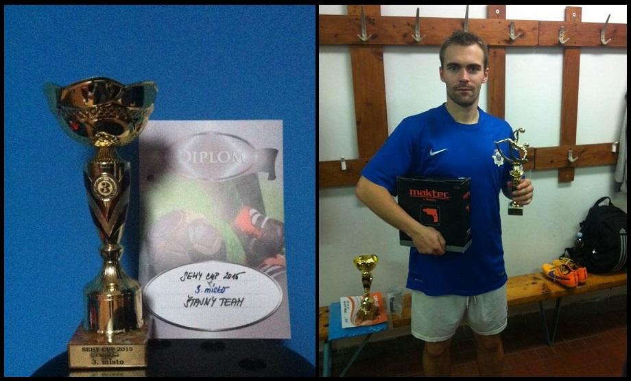 Na Sehy Cupu 2015 nastoupili hráči Snu za Štajny Team a skončili smolně na konečném 3. místě !!!