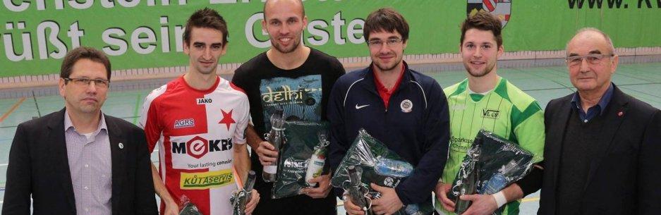 Pepa Němec v triu nejlepších hráčů turnaje v Hohensteinu !!!