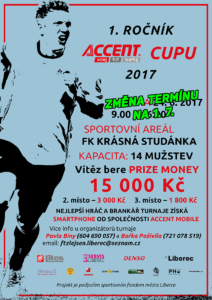 0_Promo plakát Accent Cup 2017 (1. ročník)