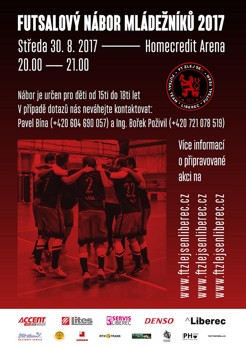 """""""Jun."""" – Futsalový nábor mládežníků !!!"""
