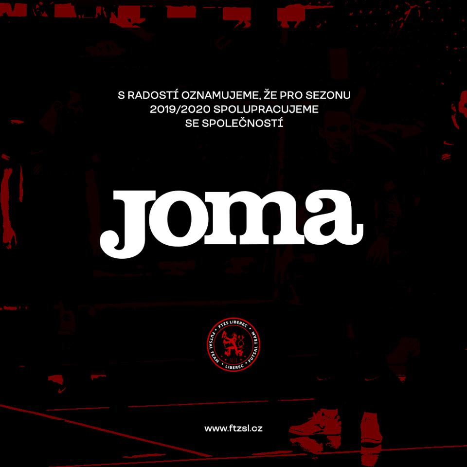 """""""Info"""" – Novým dodavatelem oblečení A-týmu bude španělský výrobce JOMA !!!"""