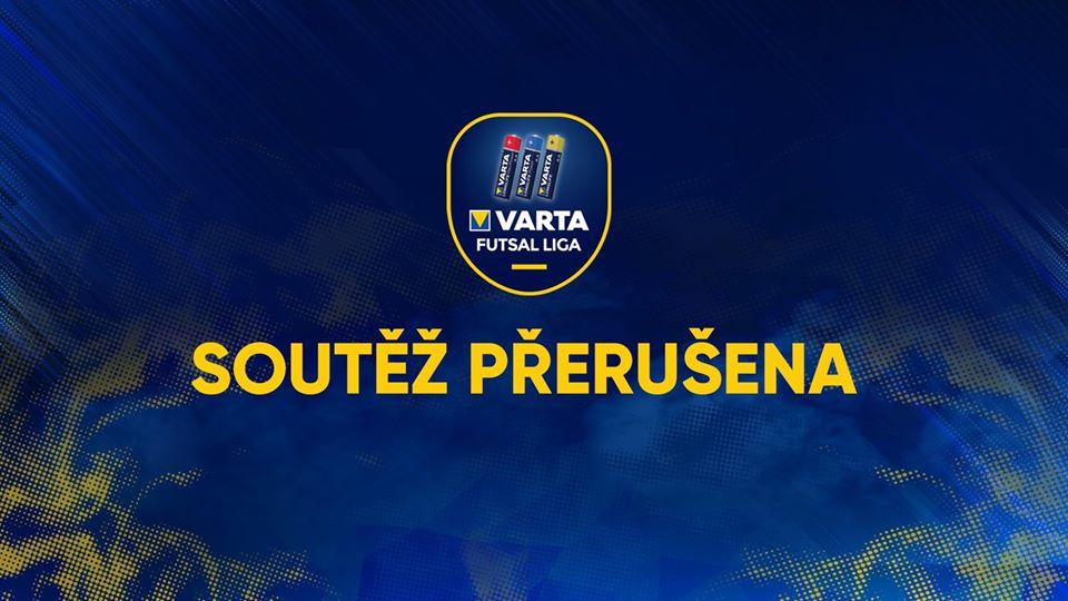 """""""Info"""" – VARTA futsal liga dostala od svazu měsíční STOPku ! Zvažují se 2 varianty ukončení soutěže !!!"""