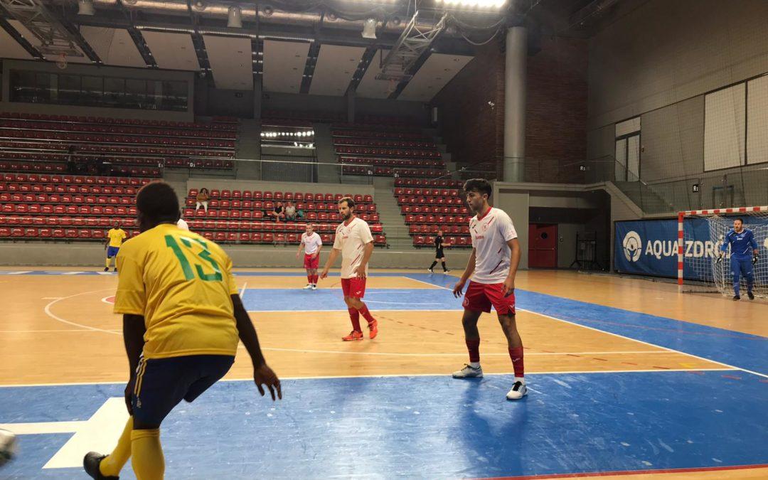 """""""A"""" tým – Těsná prohra s účastníkem mistrovství světa ! FTZS se utkal na polské půdě se Šalamounovými ostrovy !!!"""